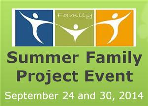 Summer Family Project Event