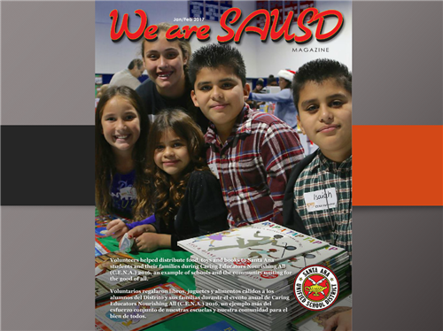 We are SAUSD Magazine January and February 2017