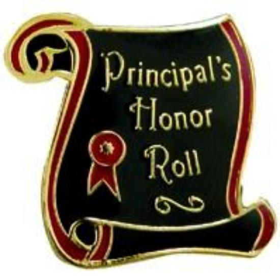 PRINCIPAL'S HONOR ROLL FOR THE 1ST SEMESTER