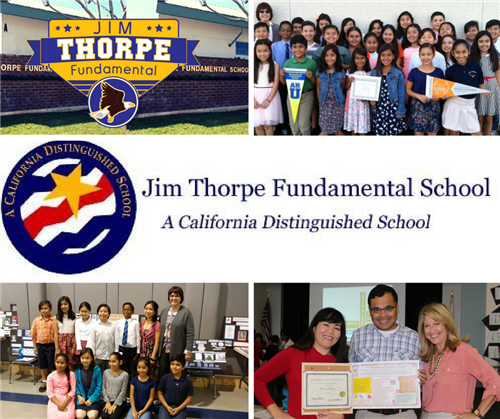 Welcome to Jim Thorpe California Distinguished School