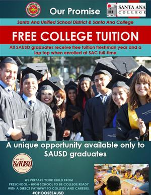 Free Tuition at Santa Ana College