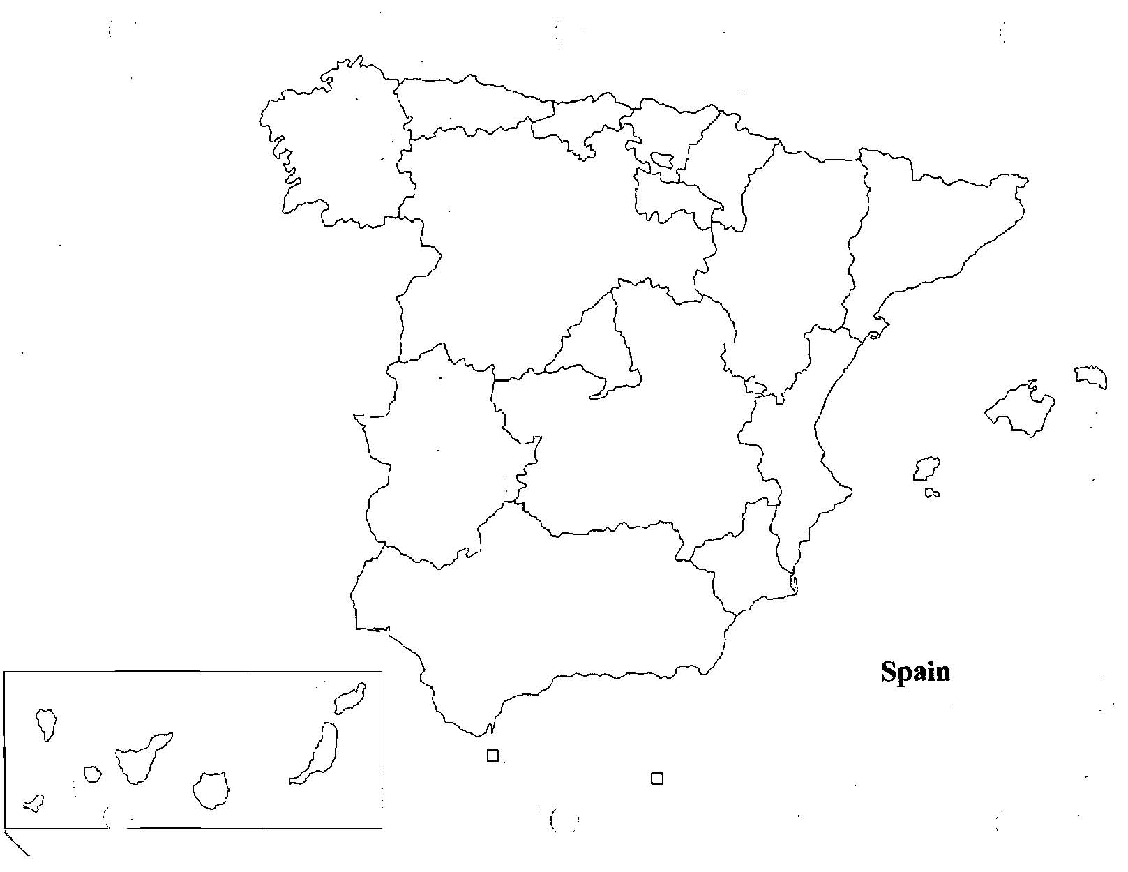 Map Of Spain Quiz.Spain Map Quiz Imsa Kolese