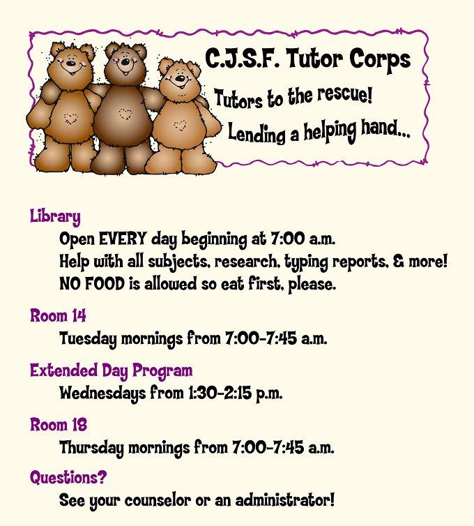 tutor corps new