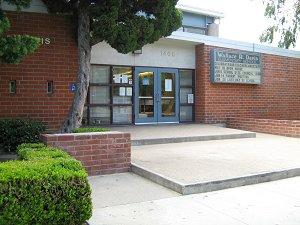 Front of School