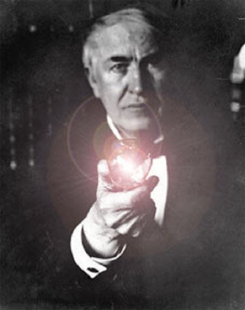Pics Photos - Thomas Edison Inventor Of The Light Bulb Was Scared Of ...