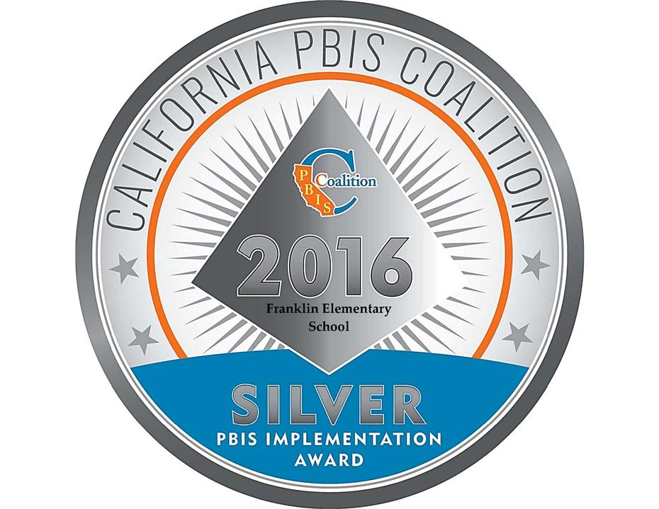 Franklin Elemetary is recognized by the State PBIS Coalition
